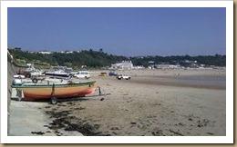 Beach at St Brelades