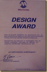 Microchip Design Award