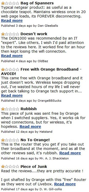 Orange modem reviews