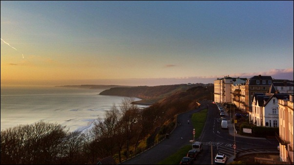 View from the Crown Spa Hotel