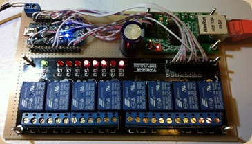 Microprocessor-Controlled Relay Board