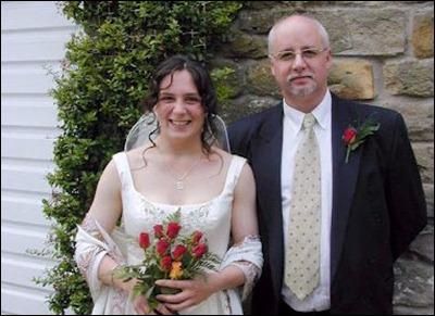 Elizabeth and dad
