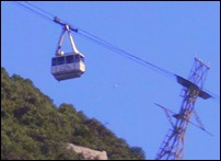 Ski lift in Gibraltar