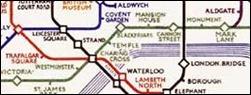 Peter Scargill travelling to Aldgate East