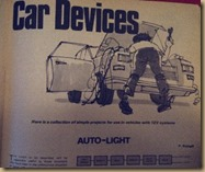 Practical Electronics - automotive auto-lighting