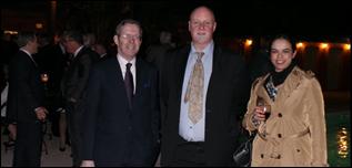 Peter Scargill with ESBA members