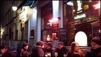 A bar in Brussels