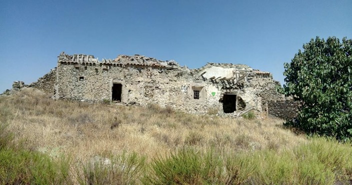 Derelict building in Andalusia
