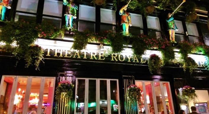 Theatre Royal next to the Playhouse in Edinburgh