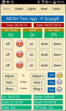 Home Control App - Peter Scargill