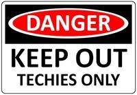 Danger sign - Peter Scargill