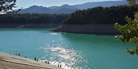 Lake in Andalucia